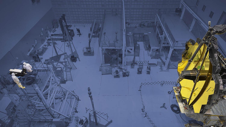PhaseCam Twyman-Green Laser Interferometer with JWST James Webb Space Telescope