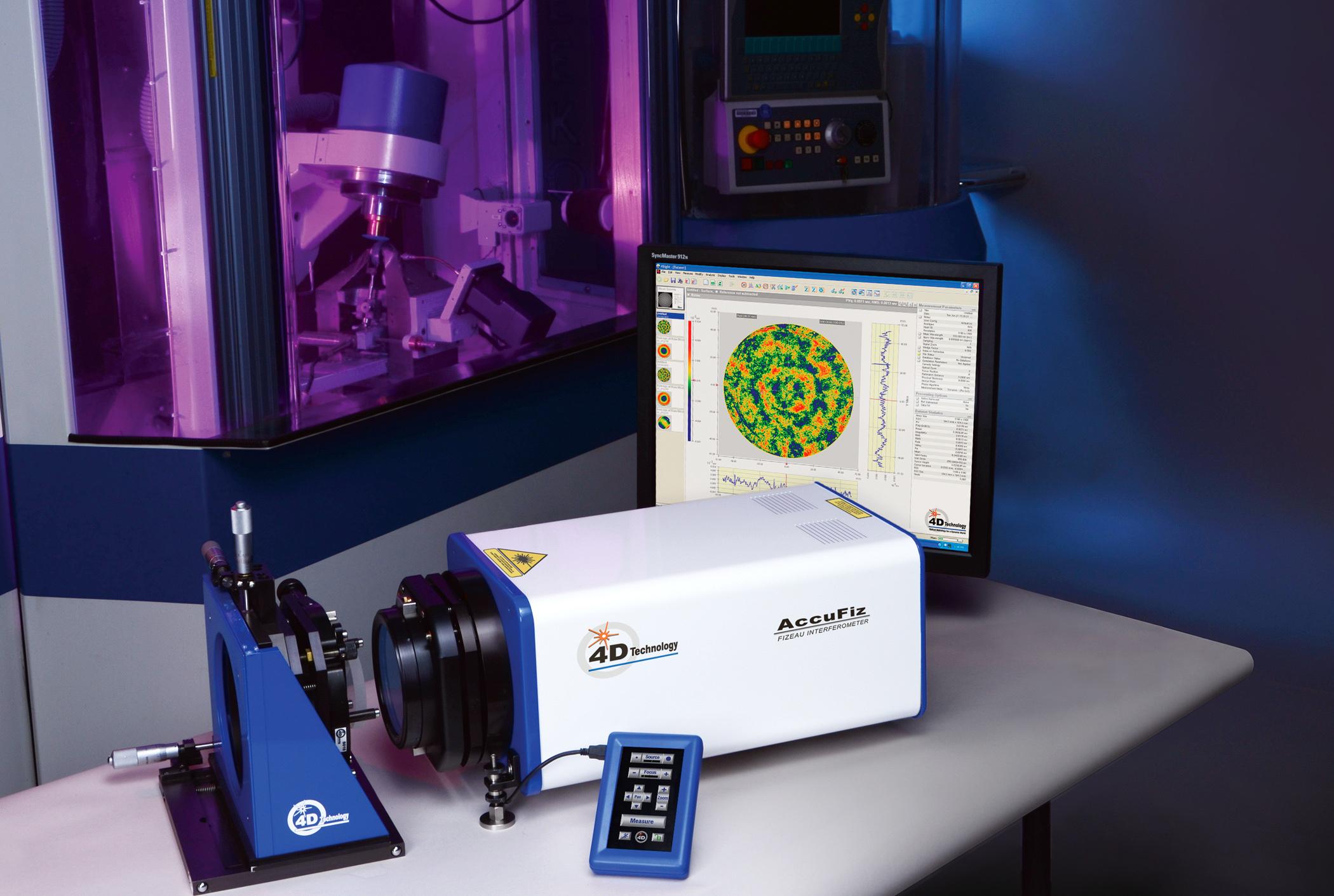 Fizeau Interferometer - AccuFiz Laser Interferometer