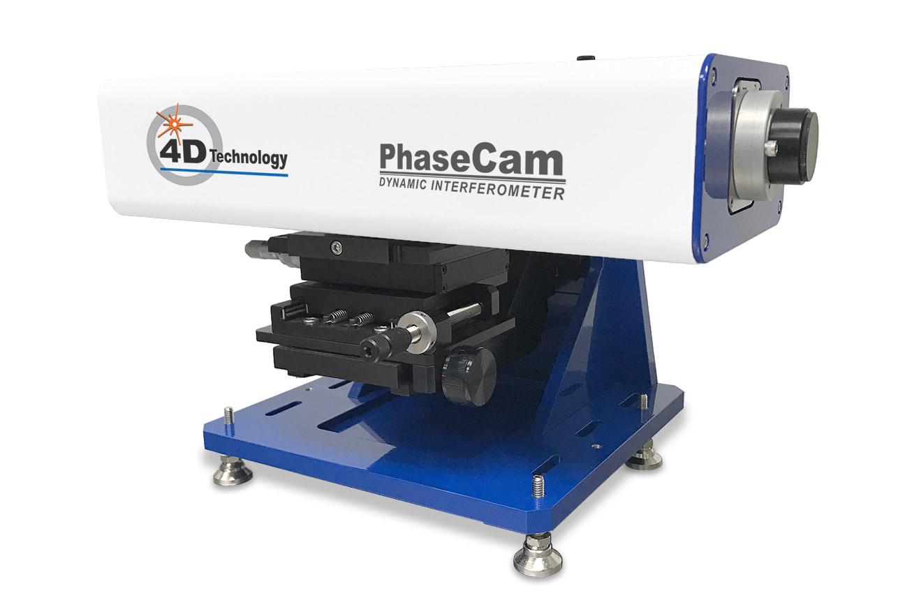 IR Laser Interferometer - PhaseCam SWIR Twyman-Greenu Infrared Interferometer 1.55 micron