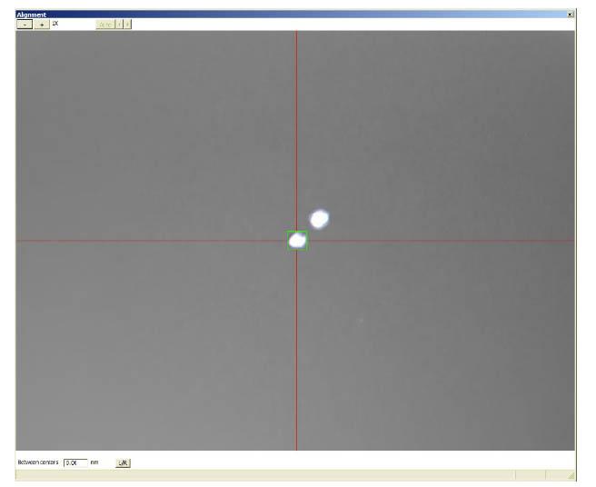 Fizeau laser interferometer - alignment