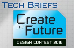 Tech Briefs Create the Future Contest Logo