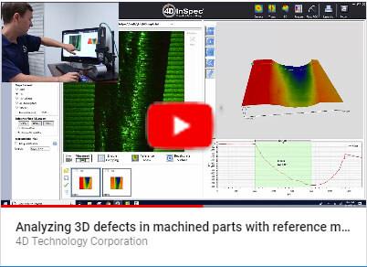 4D InSpec Surface Gauge reference masks