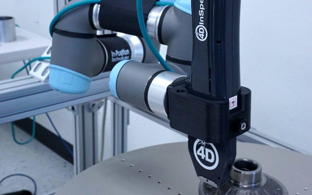 4D Technology - 4D InSpec Surface Gauge with Robotic Automation