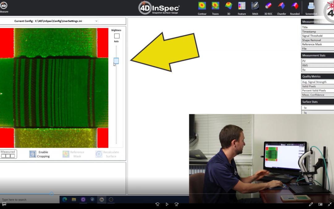Calibrating Procedure for 4D InSpec XL