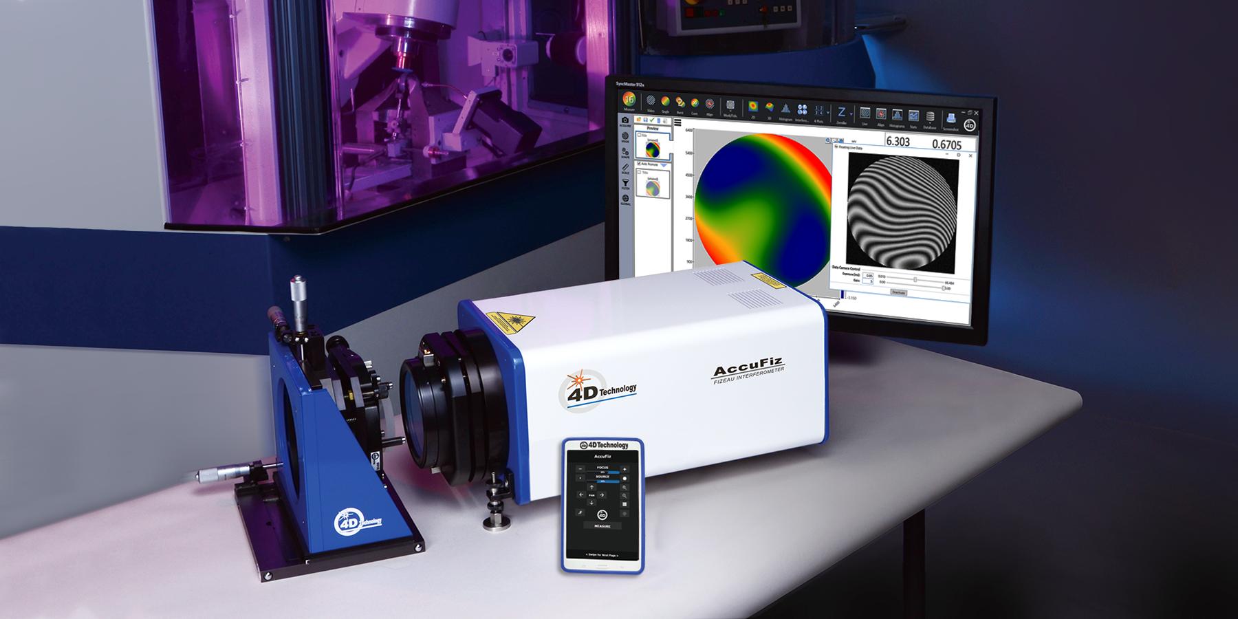 4D Technology AccuFiz Fizeau Interferometer