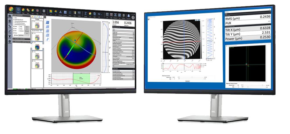 4Sight Focus Customizable Interferometer Analysis Software