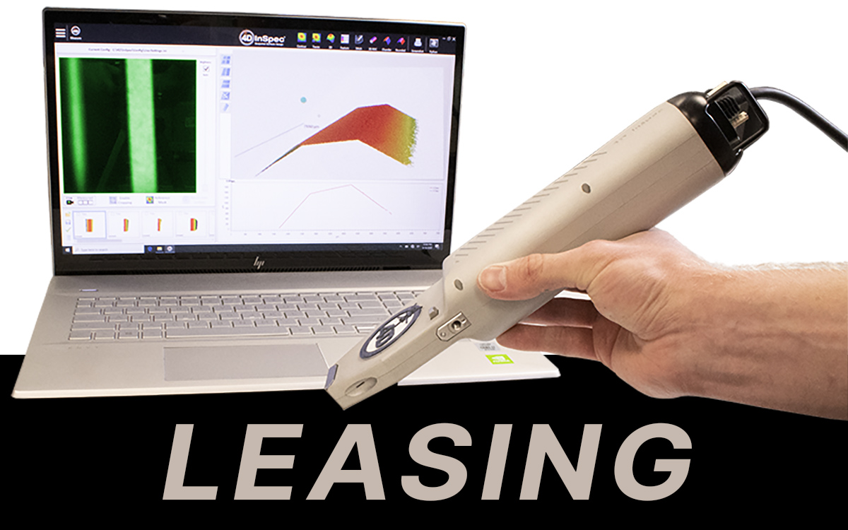 4D InSpec Surface Gauge - Lease to Own from 4D Technology